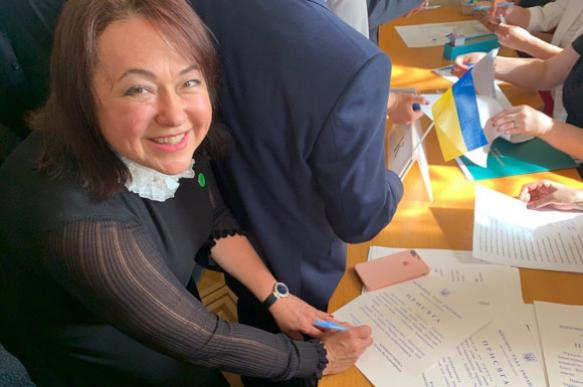 Депутат Верховной рады оправдалась заинтимную переписку