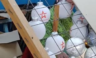 Патріот в шоке: под Киевом штамповали игрушки с символикой Армии России