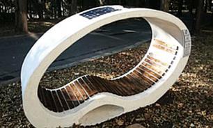 В парке Бургаса появилась скамья - зарядное устройство для гаджетов