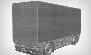 КамАЗ запатентовал грузовик без кабины. ФОТО
