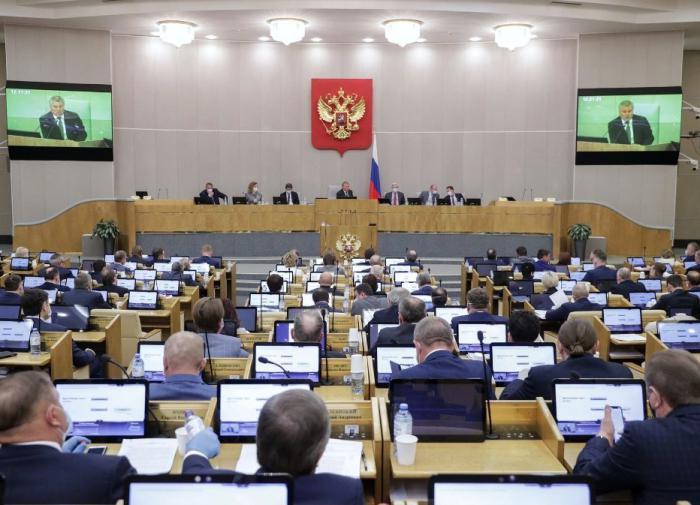 Госдума приняла в первом чтении поправки об экономических санкциях РФ