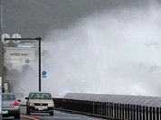 В Японии объявили эвакуацию сотен тысяч человек из-за тайфуна