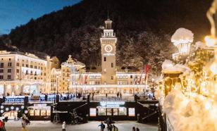 """Курорт """"Роза Хутор"""" прошедшей зимой посетили свыше 800 тысяч гостей"""