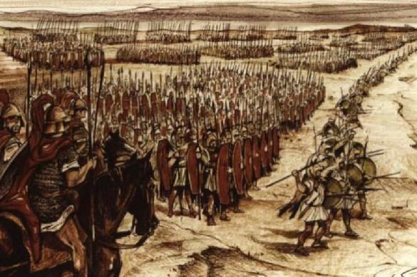 Карфагенское окружение римлян. Битва при Каннах