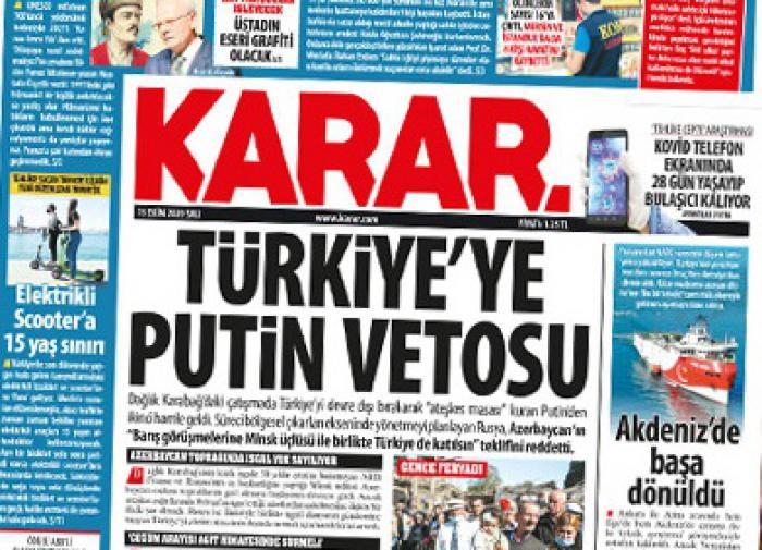 В Турции рассказали, почему Москва не допустила Анкару на переговоры по Карабаху