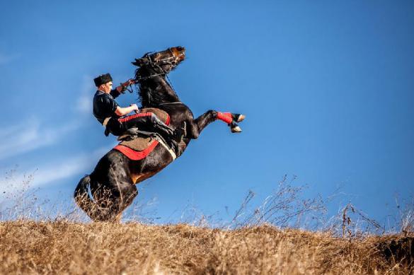 Джигитовка - казачье искусство управления конем