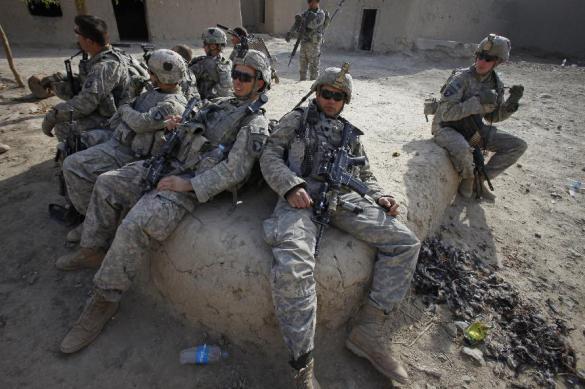 Американский солдат был убит в Афганистане в понедельник