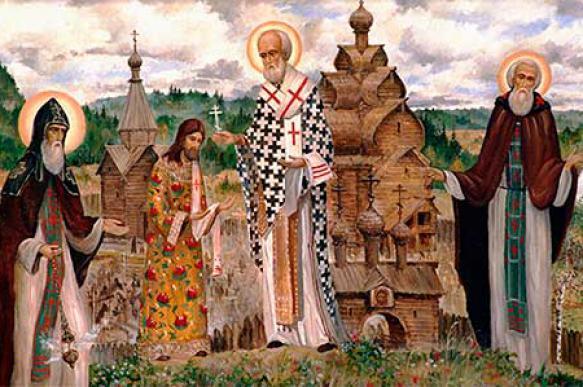 Необычная выставка православных картин