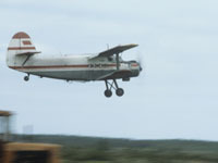Ан-2 с пассажирами аварийно сел на лесную поляну.