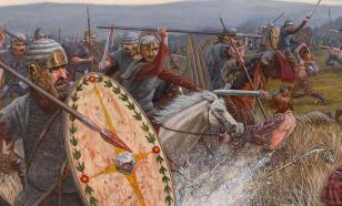 Римляне против бриттов. Битва у Граулийских гор