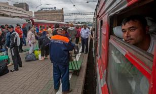 Трудовых мигрантов из Узбекистана планируют ввозить в РФ чартерными поездами