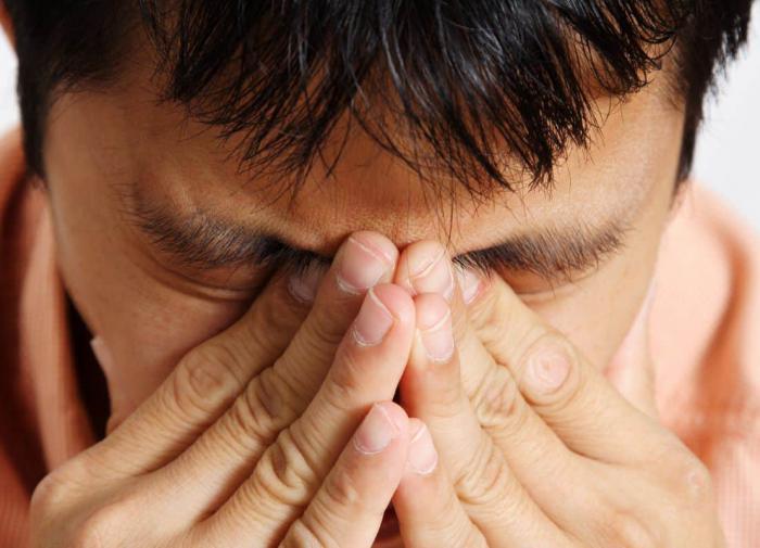 Для сломанного носа главное  - дыхание