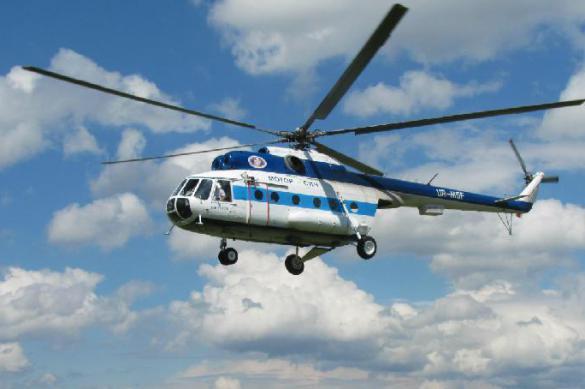 Авария вертолета Ми-8 на Камчатке: пострадали пять человек