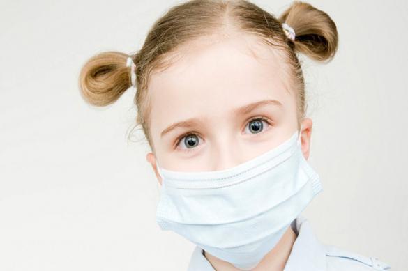 Врач: на детей не нужно надевать маски, их нужно изолировать