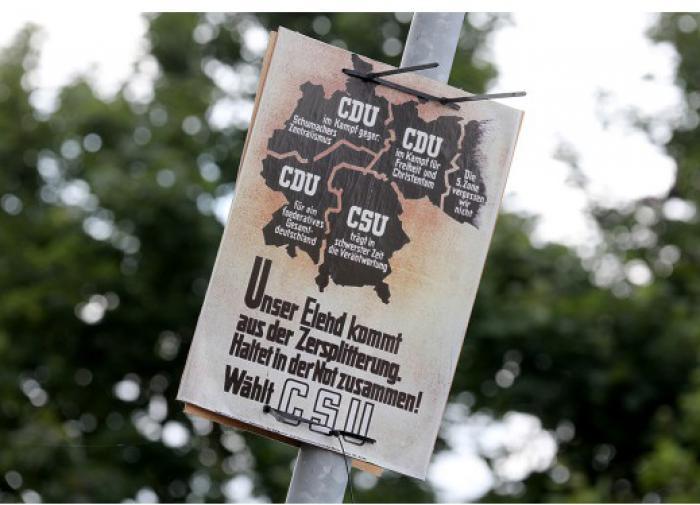 В Калининграде прокомментировали плакат с регионом в составе Германии