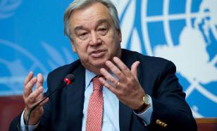 Генсек ООН призвал лидеров G20 отменить все международные санкции
