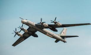 Российские самолеты в небе над Японским морем: видео от Минобороны