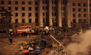 Украина обвинила Россию в трагедии в одесском Доме профсоюзов