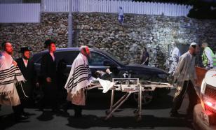 Растёт число пострадавших при обрушении трибуны синагоги - их уже 219