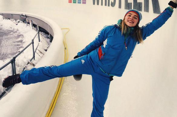 Изгнанная с Олимпиады россиянка выиграла ЧЕ по скелетону