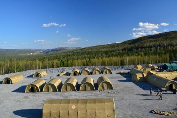 Военные развернули госпиталь для борьбы с COVID-19 в Красноярском крае