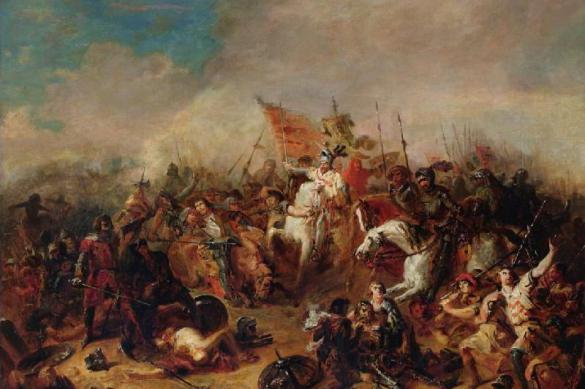 Военная хитрость нормандцев. Битва при Гастинсе