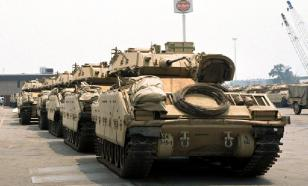 В Южной Корее произошло ДТП с участием М2 Bradley