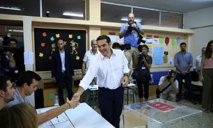 """""""Сириза"""" победила на выборах в Греции"""
