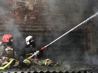 Пожар на арсенале в Башкирии потушен.