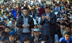 В Москве мусульмане проводят масштабную акцию протеста у посольства Мьянмы