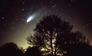 В Красноярске жители сняли на видео падение метеорита