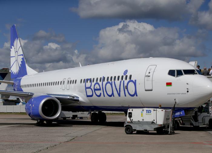 Украина закрыла воздушное пространство для Белоруссии