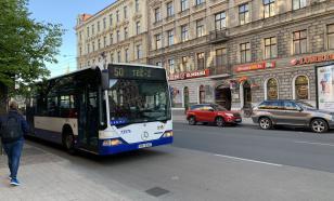 Житель Риги удивился русскоязычным объявлениям в городском транспорте