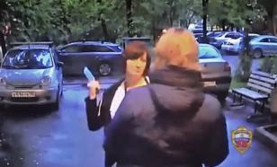В Москве женщина с ножом пыталась забрать долг у соседки