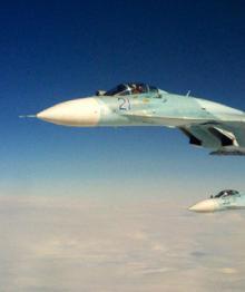 Минобороны показало перехват самолета-разведчика над Балтикой