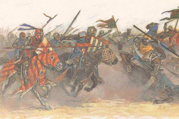 Крестоносцы против султана. Битва при Дорелее