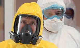 Путин проверил, как лечат от коронавируса в медцентре на Коммунарке