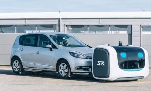 Технологии будущего: запущен новый робот-парковщик