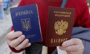 Жители ДНР стоят в очередях за российскими паспортами
