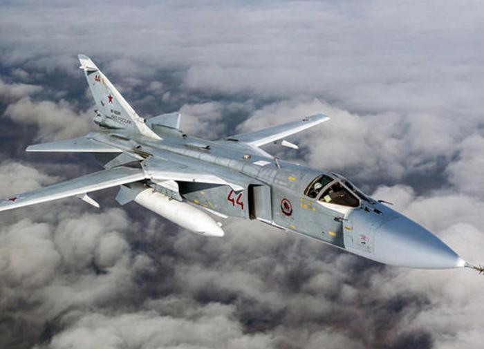 Очевидцы рассказали окрушении самолёта Су-24