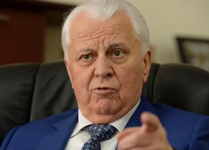 Кравчук поделился своим видением прекращения войны на Донбассе