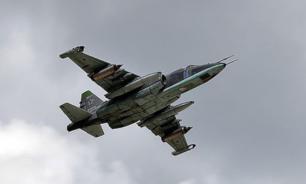 Тела летчиков Су-25 нашли на месте падения самолета