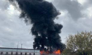 В исправительной колонии Тюмени вспыхнул пожар
