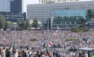 Более 70 тысяч человек вышли на акцию в поддержку Лукашенко