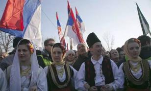 """Сербию поставили к стенке, следующий шаг - расстрел - лидер движения """"Косовский фронт"""""""