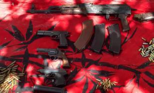 У жителя Новороссийска нашли целый склад оружия и боеприпасов