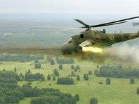Полеты вертолетов Ми-24 приостановлены из-за очередного ЧП.