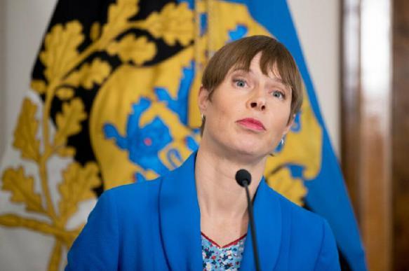 Президент Эстонии заявила, что она уповает на защиту НАТО