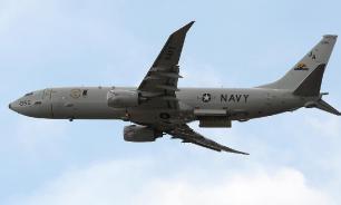 Американский самолёт-разведчик пролетел над зоной учений России и Сирии
