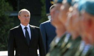 Президент России поздравил десантников с профессиональным праздником